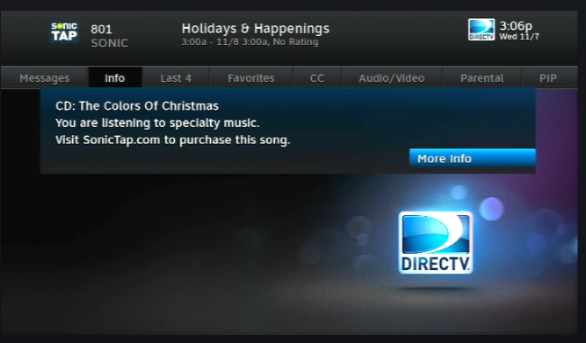 It's that time of year again... Christmas Music on DIRECTV - The ...