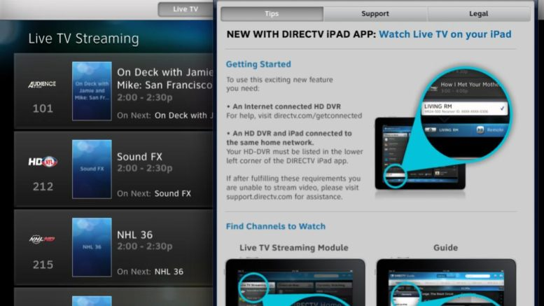 Hands on with DIRECTV Everywhere - The Solid Signal Blog