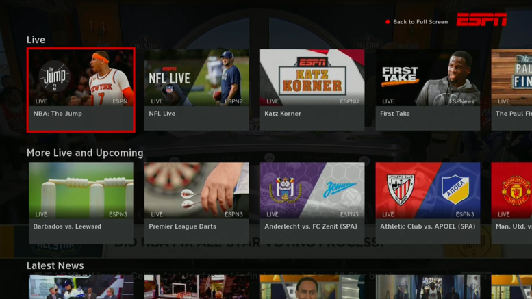 Have you seen the new DIRECTV ESPN app? - The Solid Signal Blog
