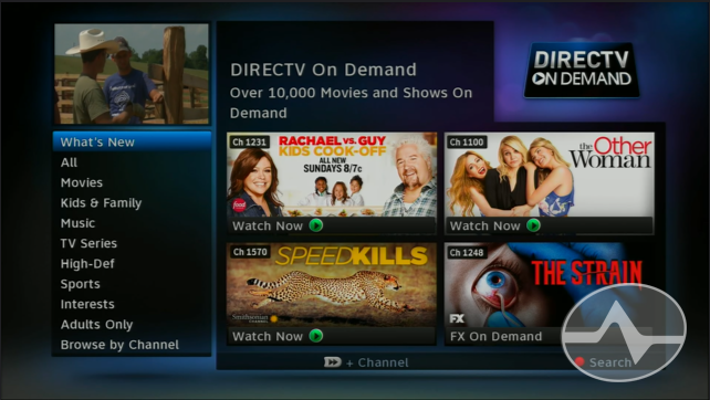 NICE AND EASY: Using On Demand with DIRECTV - The Solid