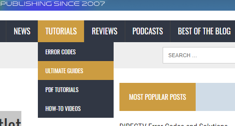 Read our Ultimate Guides! - The Solid Signal Blog