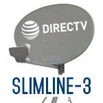 Slimline-3 dishes