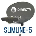 Slimline-5 dishes